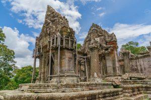 Ruins in Preah Vihear, Cambodia