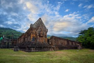 Wat Phou Temple in Champasak, Laos