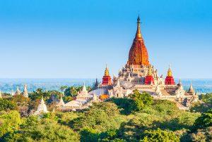 Ananda Temple in Bagan, Myanmar