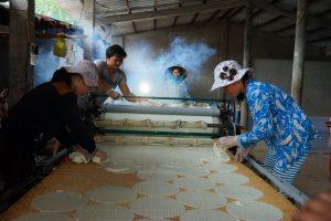 Rice paper cakes villages