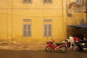 Streets in Battambang, Cambodia