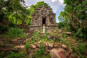 Ruin in Takeo, Cambodia
